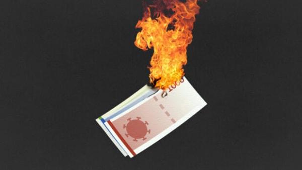 KRONER & CORONA: Pas på, der er ild i dine penge!