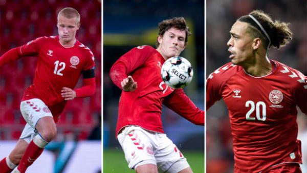 Stem på dine favoritter: Skal Poulsen, Dolberg eller Wind starte for Danmark?