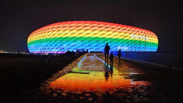 München ville støtte LGBT+-rettigheder i landskamp mod Ungarn - men Uefa siger nej tak til regnbuestadion
