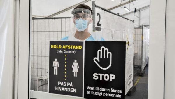 Rekordhøjt smittetal: Næsten 1.200 er registreret smittet det seneste døgn