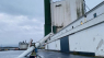 Skorsten på 150 ton er væltet på Aarhus Havn: 'Helt ufatteligt, at det kan ske'