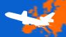 Europa næsten helt orange: Kun to lande er åbne for ikke-nødvendige rejser